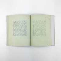 Anni Albers: Notebook 1970 – 1980