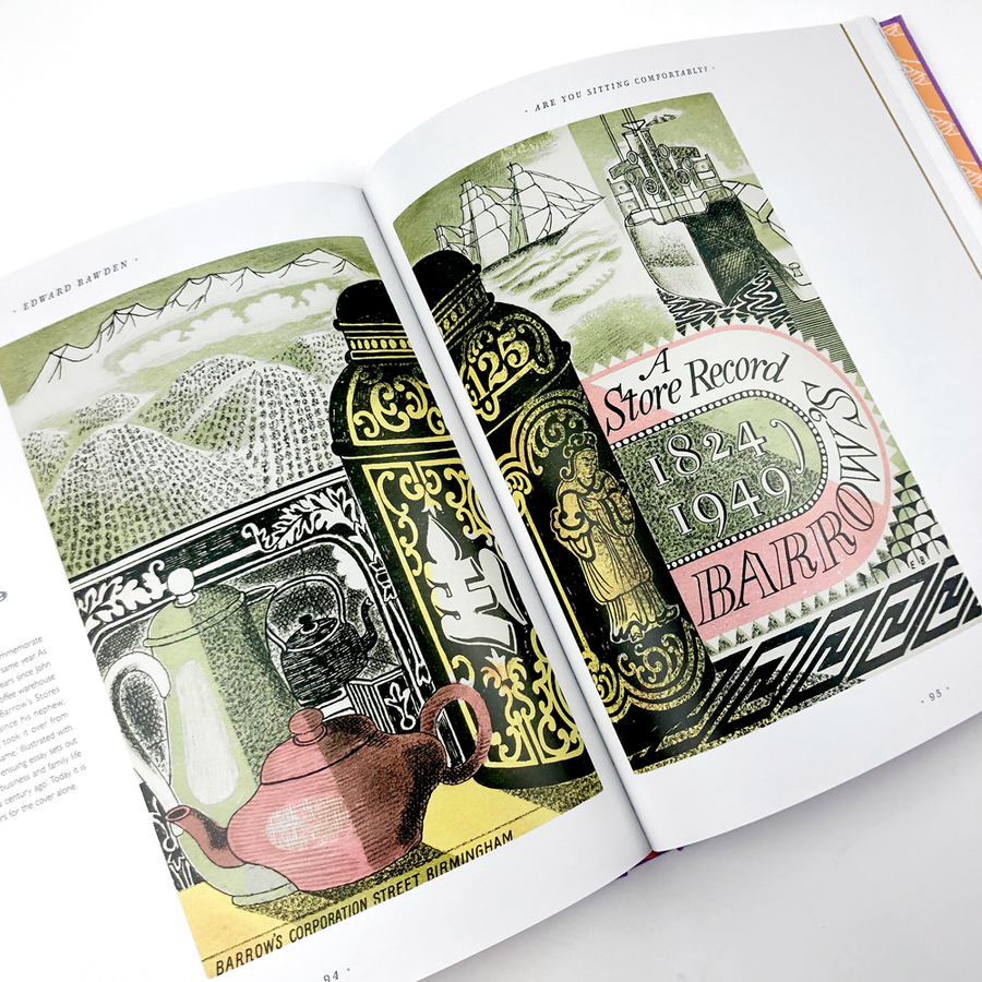 Are you Sitting Comfortably? The Book Jackets of Edward Bawden