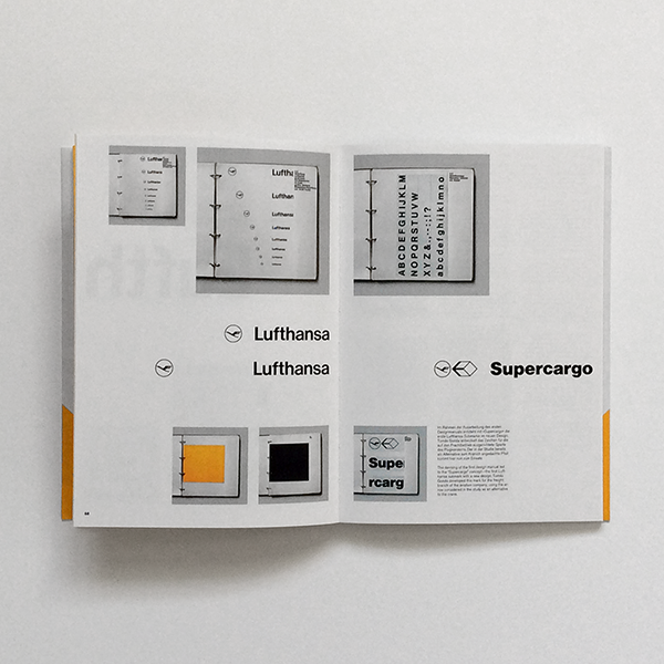 Lufthansa + Graphic Design