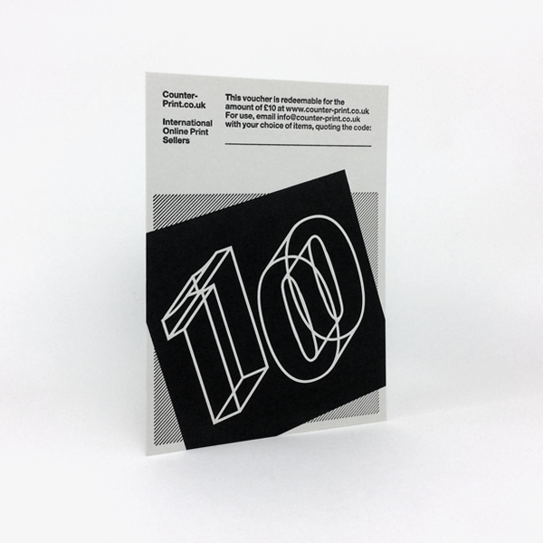 £10 Counter-Print Voucher