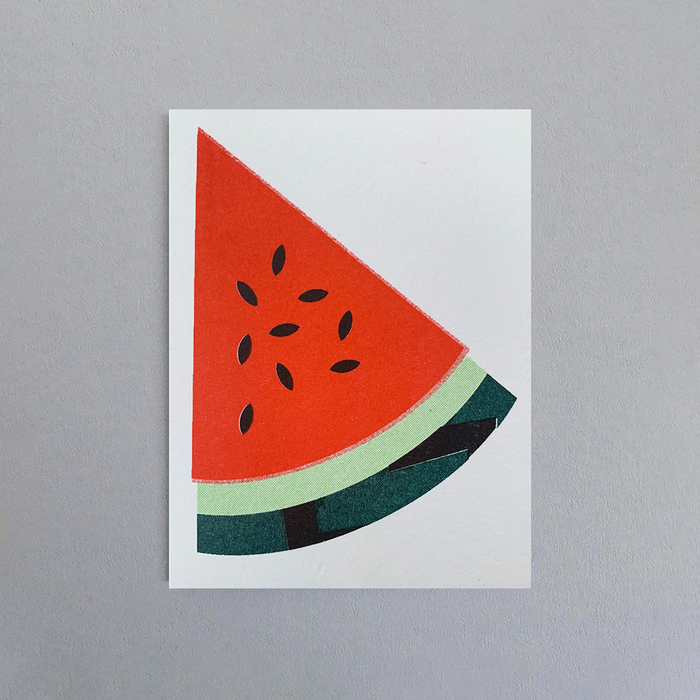 Water Melon Card