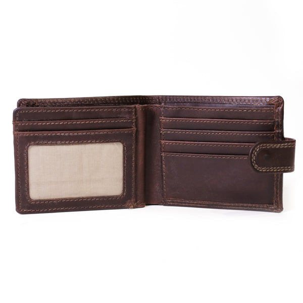 117 Classic mens wallet in Manhattan Brown