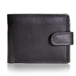 117 Classic mens wallet in Merino Black