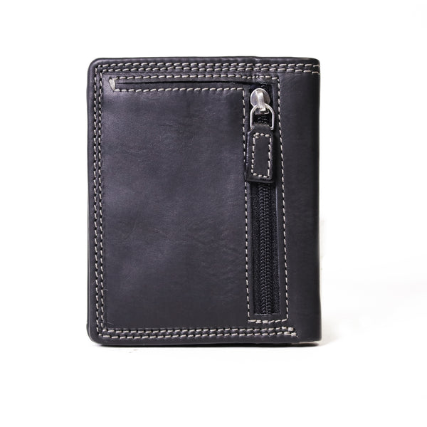 AW-141 compact mens wallet black
