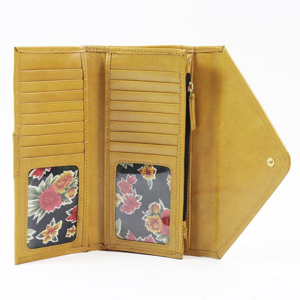 AW155 Envelope Purse Yellow