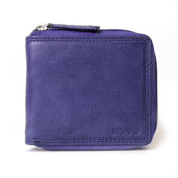 156 Zip around wallet aviator blue
