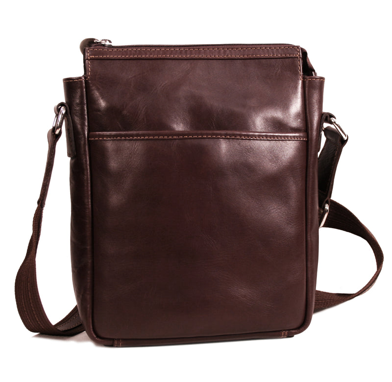 Adam tablet bag vacheta brown