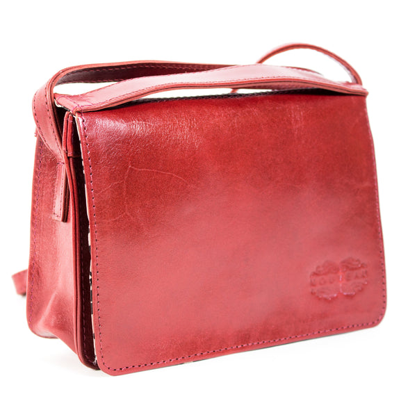 Big Bess crossbody sling bag red