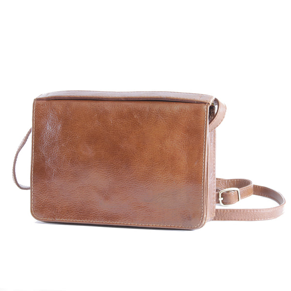 Big Bess Cross Body Sling bag Tan