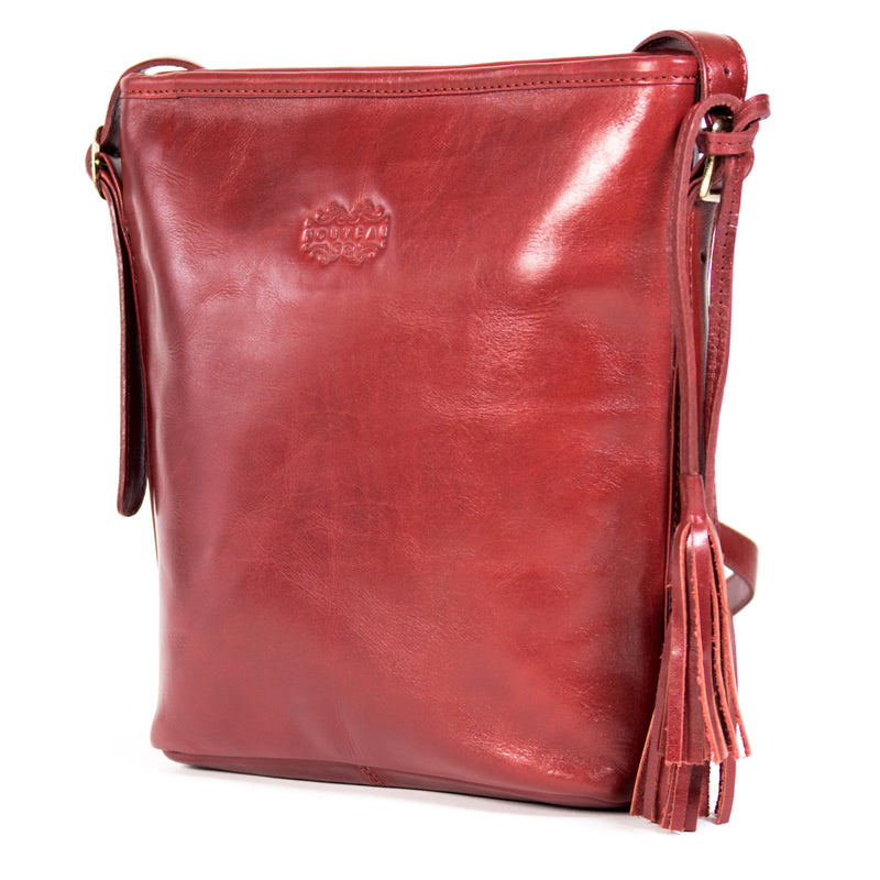 Big Lisbon - leather sling bag