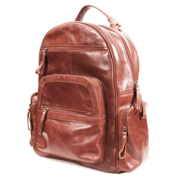 Clinton Laptop Backpack Vacheta Cappuccino