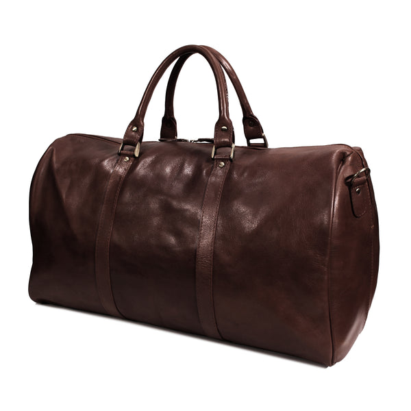 Cody Duffel Travel Bag vacheta brown