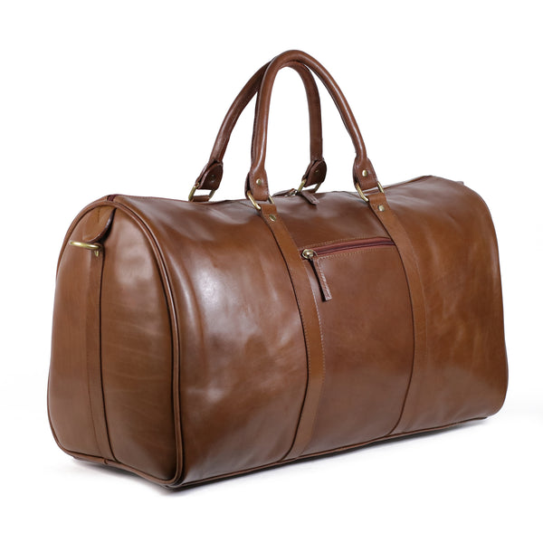 Cody Duffel Travel Bag vacheta Cappuccino