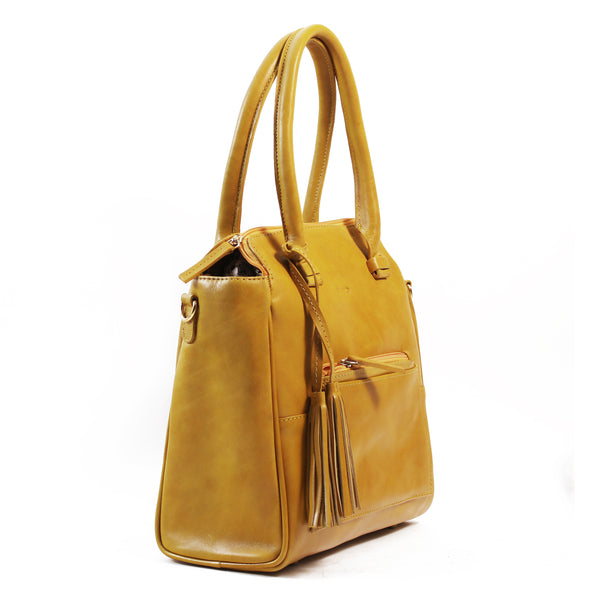 Dijon shoulder bag yellow