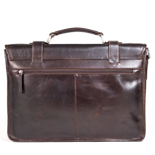 Dexter Vintage Laptop Bag burnish brown