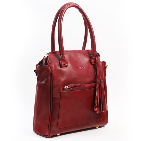 Dijon shoulder bag red