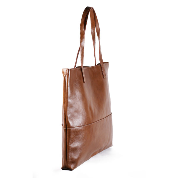Isola Veg Tan Shopper