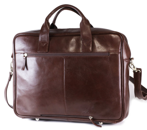 IVAN-02 17 inch Laptop bag vacheta brown