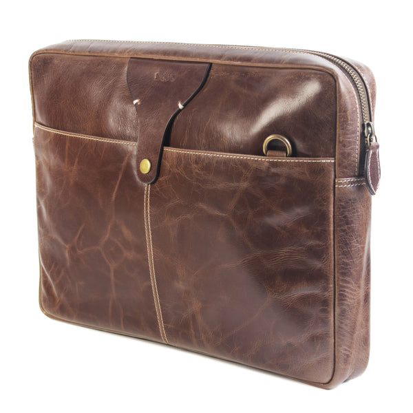 Jagger Laptop Sleeve brown *showroom sample