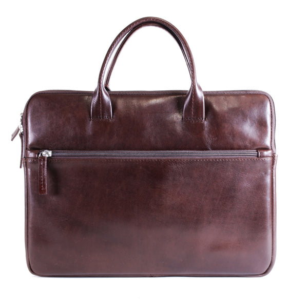 Moore 13 inch Laptop Bag vacheta brown