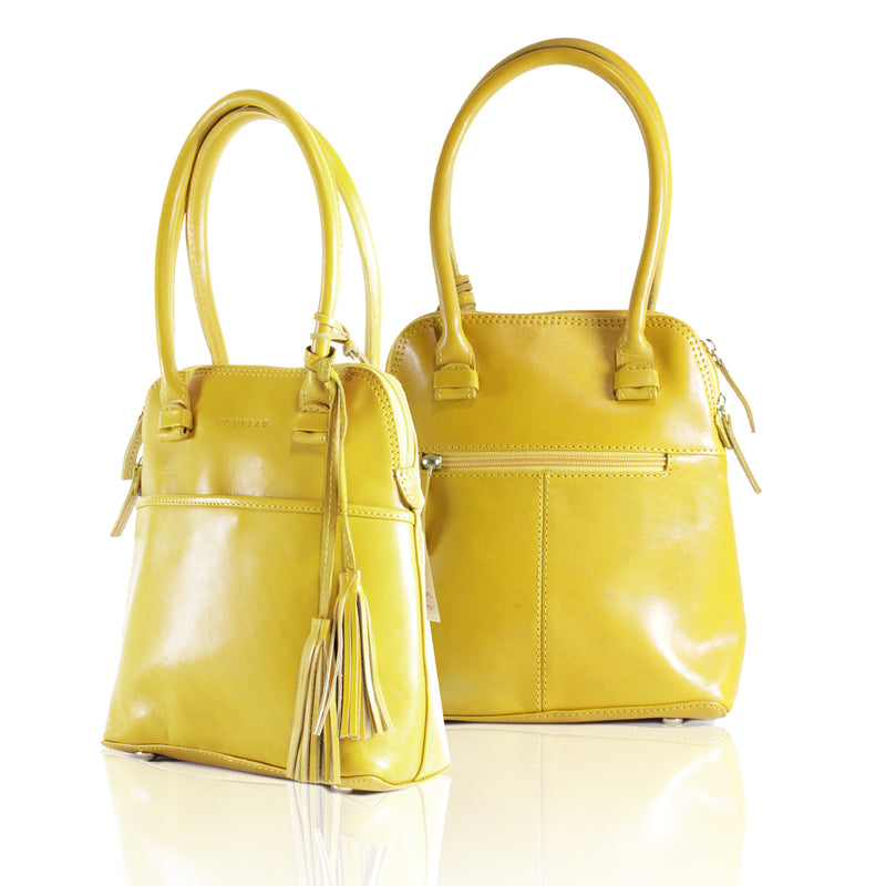 Small Epsi Shoulder Handbag mustard yellow