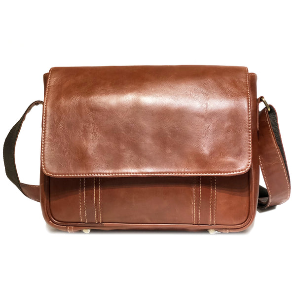 SAM-01 Messenger Bag with Flapover *showroom sample*