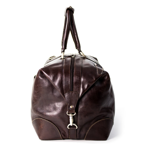 Vancouver-duffel bag in Burnish leather