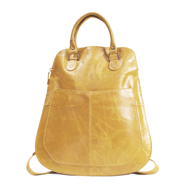 Victoria backpack handbag yellow