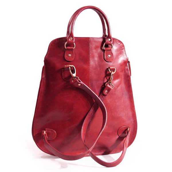 Victoria backpack handbag Red