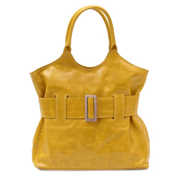 Belted Bag yellow