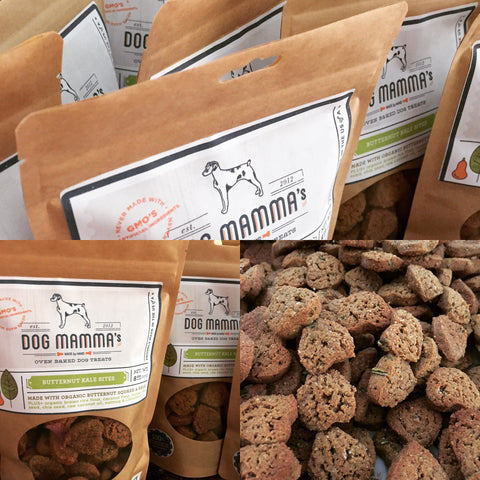 Dog Mammas Butternut Kale Bites organic treats