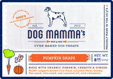 Pumpkin Snaps Organic Dog Treats - 8 oz Non-GMO Project Verified
