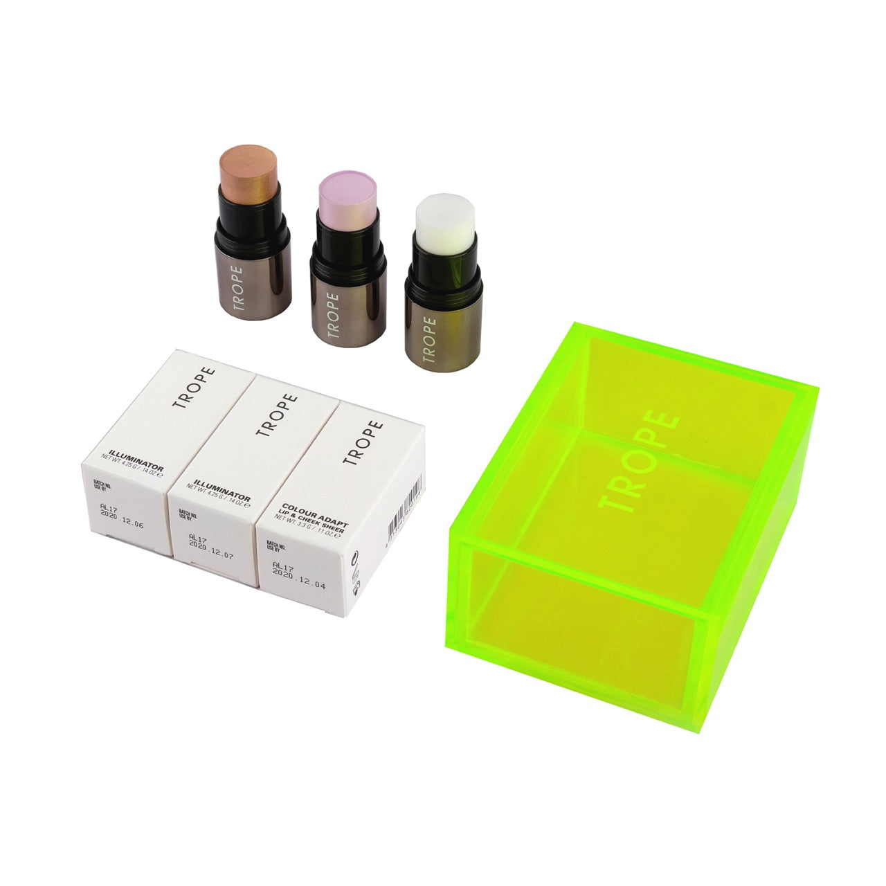 LIGHT AND BLOSSOM 3pc Face & Lip Colour Set