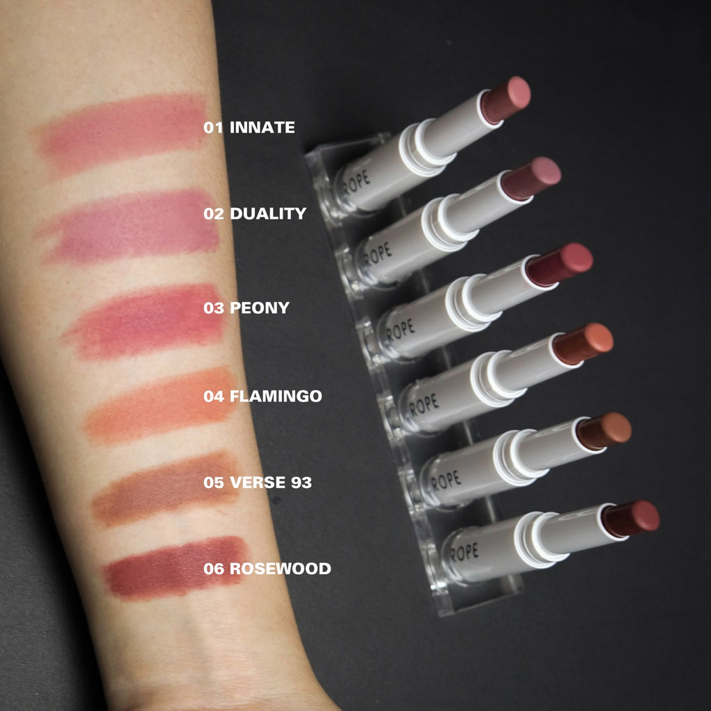 6pc Velvet Matte Lipstick Bundle