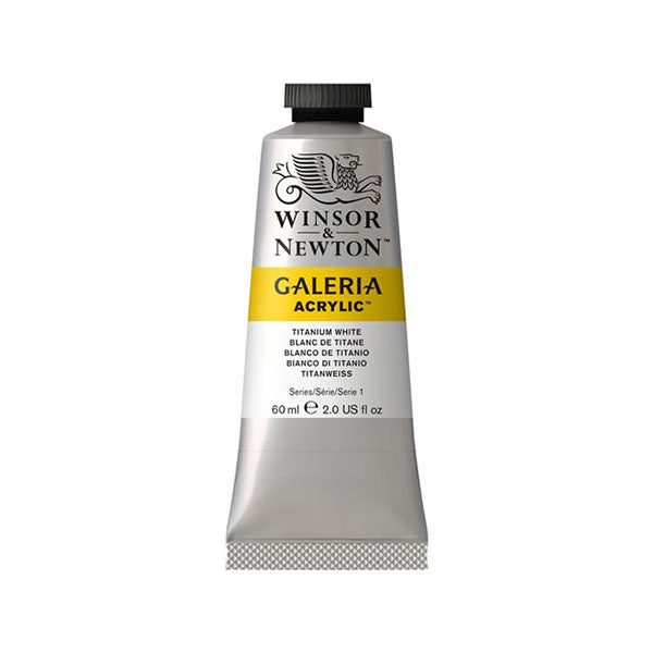 Winsor & Newton Galeria Acrylic Paint 60ml Tube - Individual Colours from £2.55 each