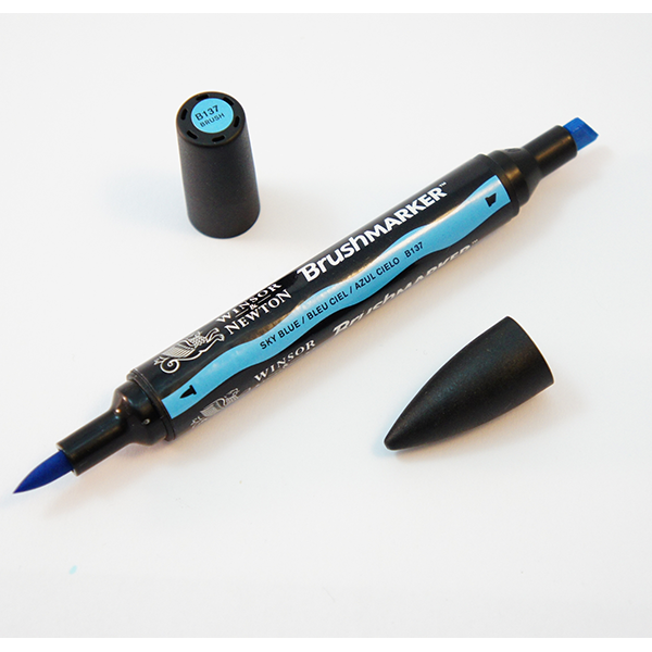 W&N Brushmarker Twin Tip Marker - Individual Colours