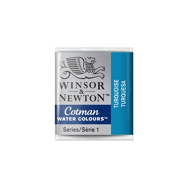 Winsor & Newton Cotman Watercolour Half Pans - Individual Colours
