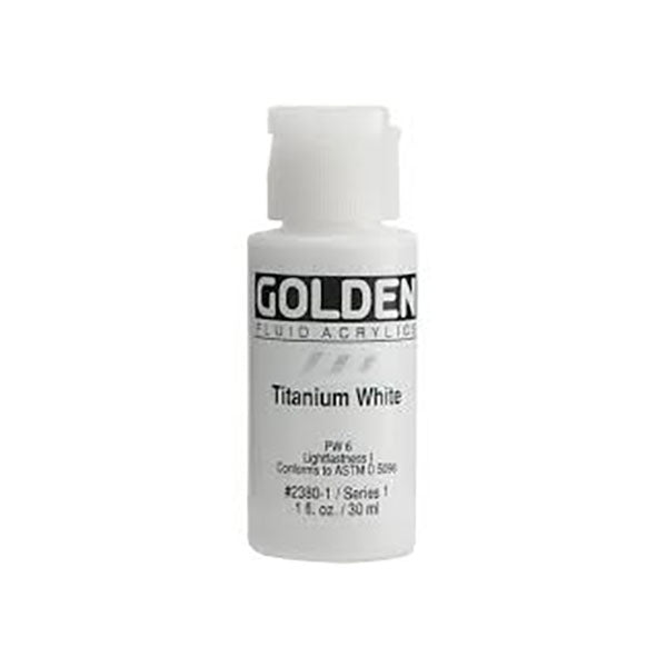 Golden 30ml Fluid Acrylic