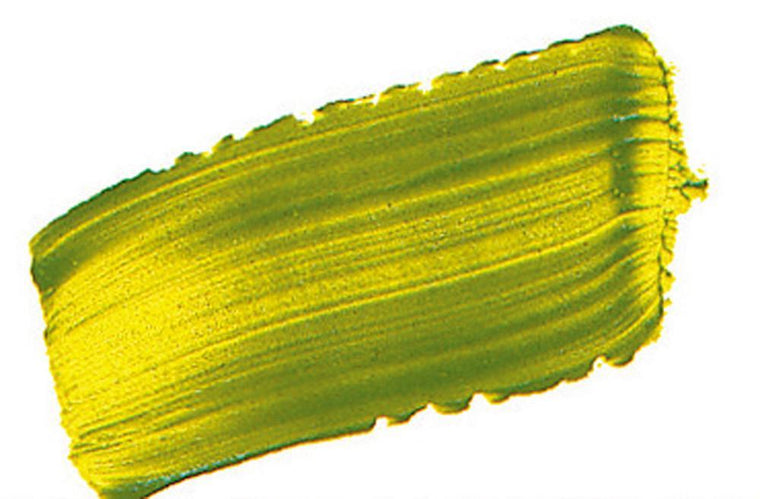 Golden Open Slow Drying Acrylic Colour 60ml Tube - Green Gold VII - Spectrum Art Shop Birmingham
