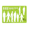 Jakar Metric Templates Male Figures 4645- Various Scales - Spectrum Art Shop Birmingham
