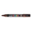 Posca PC-5M Marker 1.5-1.8mm Bullet Tip-Brown - Spectrum Art Shop Birmingham