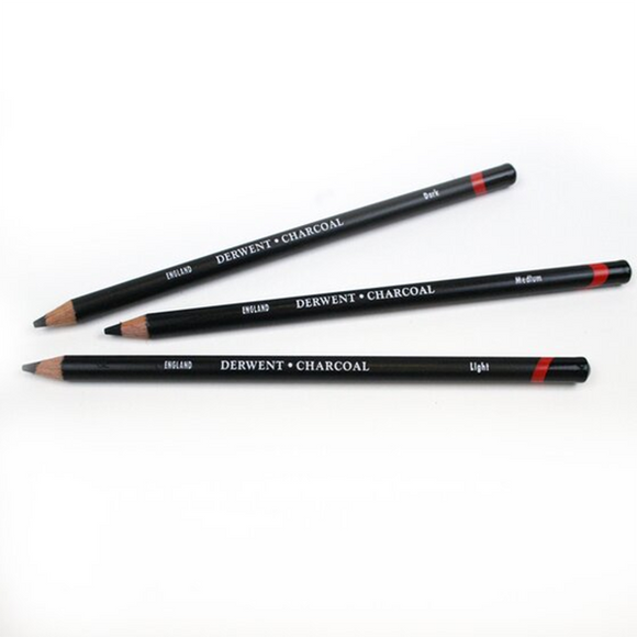 Derwent Charcoal Pencils - Individual - Spectrum Art Shop Birmingham