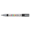 Posca PC-3M Marker, 0.9-1.3mm Bullet Tip-Silver - Spectrum Art Shop Birmingham
