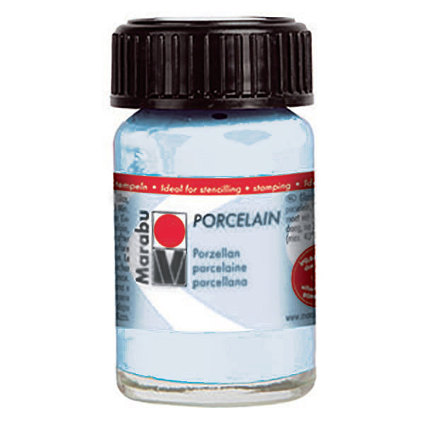 Porcelain Ceramic Paint 15ml, Light Blue - Spectrum Art Shop Birmingham