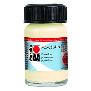 Porcelain Ceramic Paint 15ml, Ivory - Spectrum Art Shop Birmingham