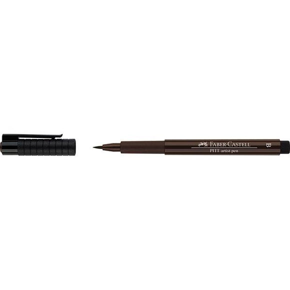 Faber-Castell PITT Artist Pen Brush, Sepia (175) - Spectrum Art Shop Birmingham