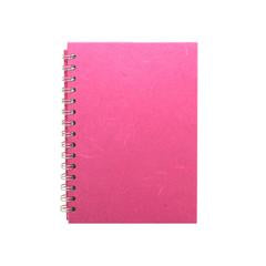 "Pink Pig ""Posh Pig"" Spiral Bound A5 Portrait Cartridge Pad - Bright Pink/35sheets"