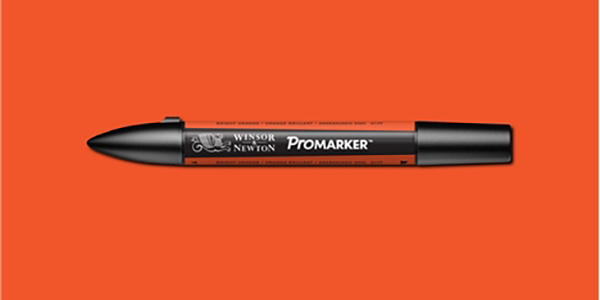 Winsor & Newton Promarker Singles - Bright Orange O177