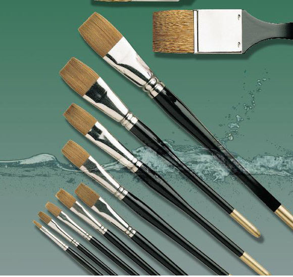 Pro Arte Series 106 Prolene Flat One Stroke Brushes - Various Sizes - Spectrum Art Shop Birmingham