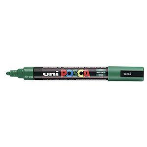Posca PC-5M Marker 1.5-1.8mm Bullet Tip-Green - Spectrum Art Shop Birmingham